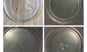 Bán đĩa thủy tinh trong lò vi sóng